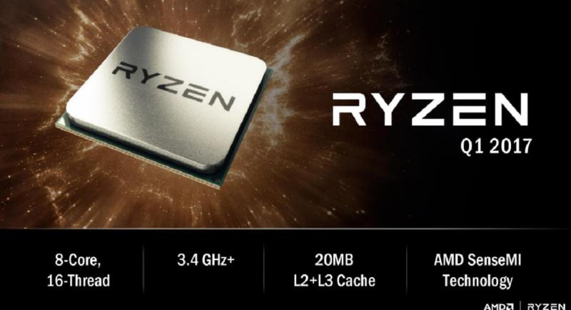 AMD's Ryzen debuts for desktops in the first quarter of 2017.