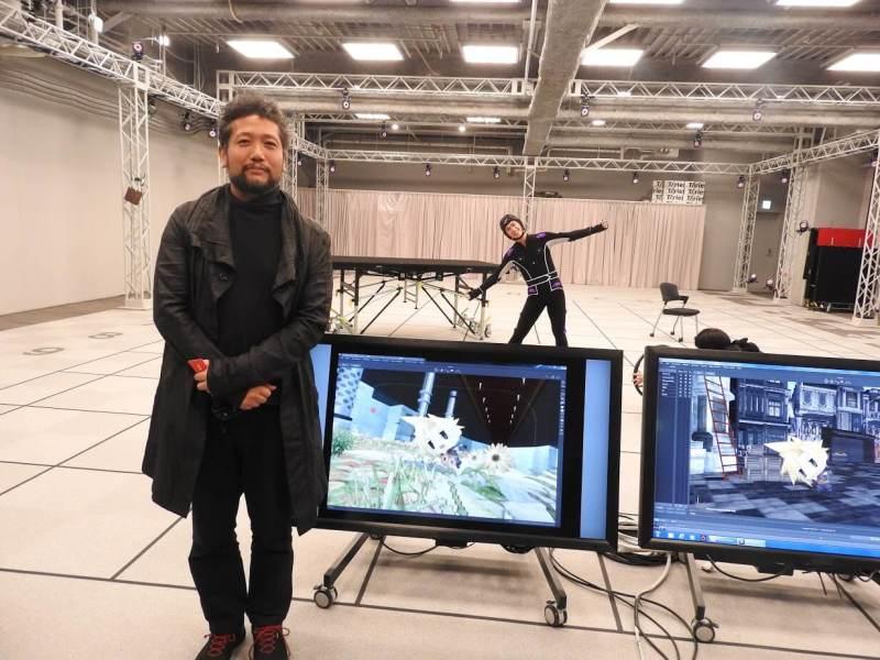 Kazuyuki Ikumori, general manager and chief creative director at Square Enix's Visual Works division.