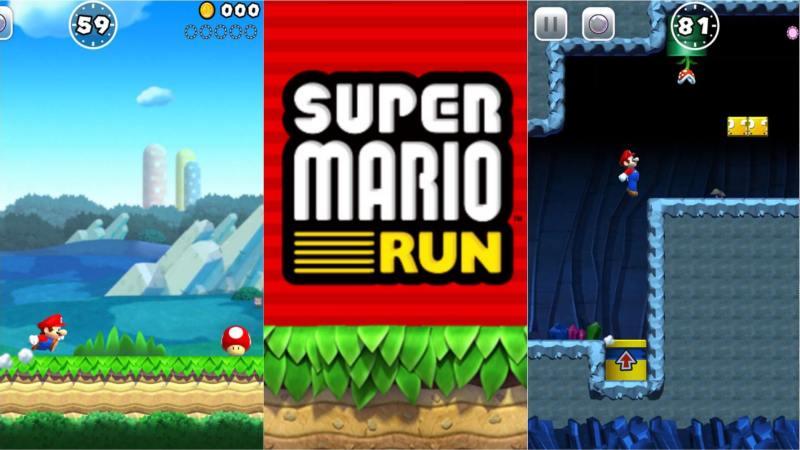 Super Mario Run is mammothly popular on iOS.