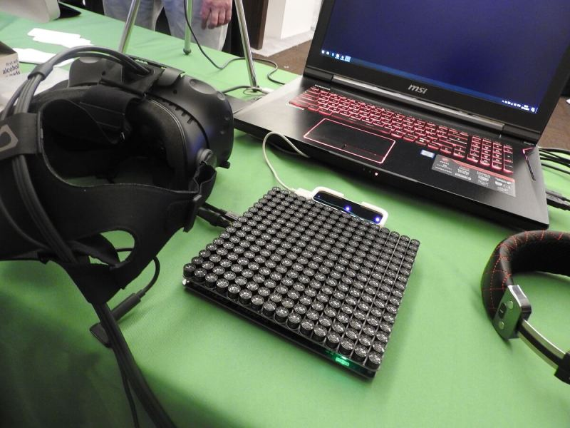 Ultrahaptics' sound board gives you a sense of touch.