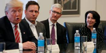 Can Trump convince Apple, IBM, and Microsoft to create more U.S. jobs?