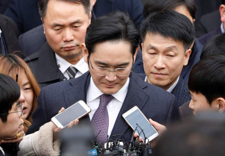 Samsung chief Jay Y. Lee given 5-year jail sentence for bribery