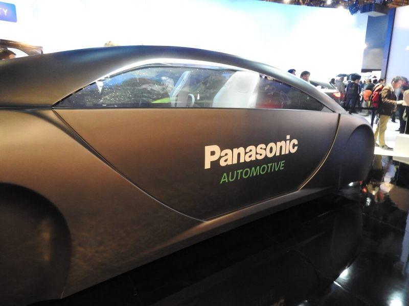 The Panasonic driverless concept car.