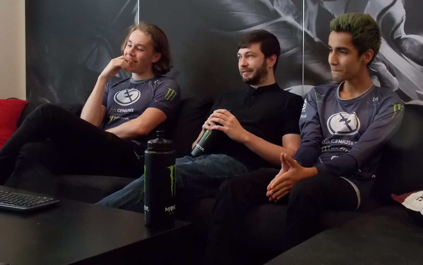 "From left to right: Ludwig ""zai"" Wåhlberg, Clinton ""Fear"" Loomis, and Sumail ""Suma1L"" Hassan."