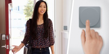 August smart locks can now be controlled using Logitech's POP home switch