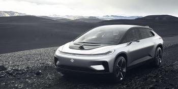 Faraday Future unveils FF 91 electric car that parks itself, goes 0-60 in 2.4 seconds