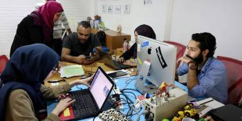Marc Benioff, Eric Ries, Dave McClure back effort to fund coding academy in Gaza