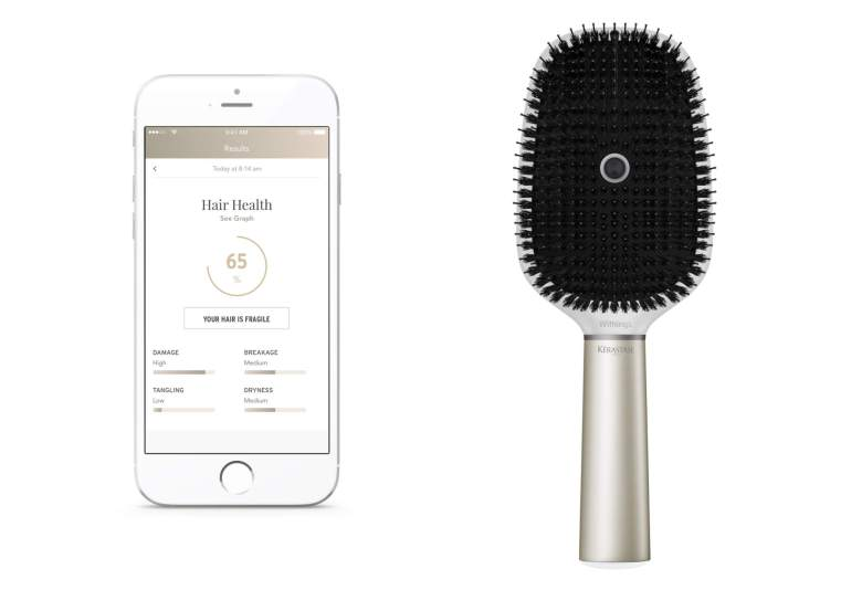Withings and L'Oreal made a smart hairbrushthat rates your hair