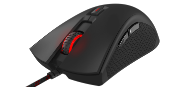 The HyperX Pulserfire is a comfortable plug-and-play gaming mouse