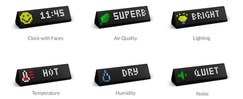LaMetric Air measurements