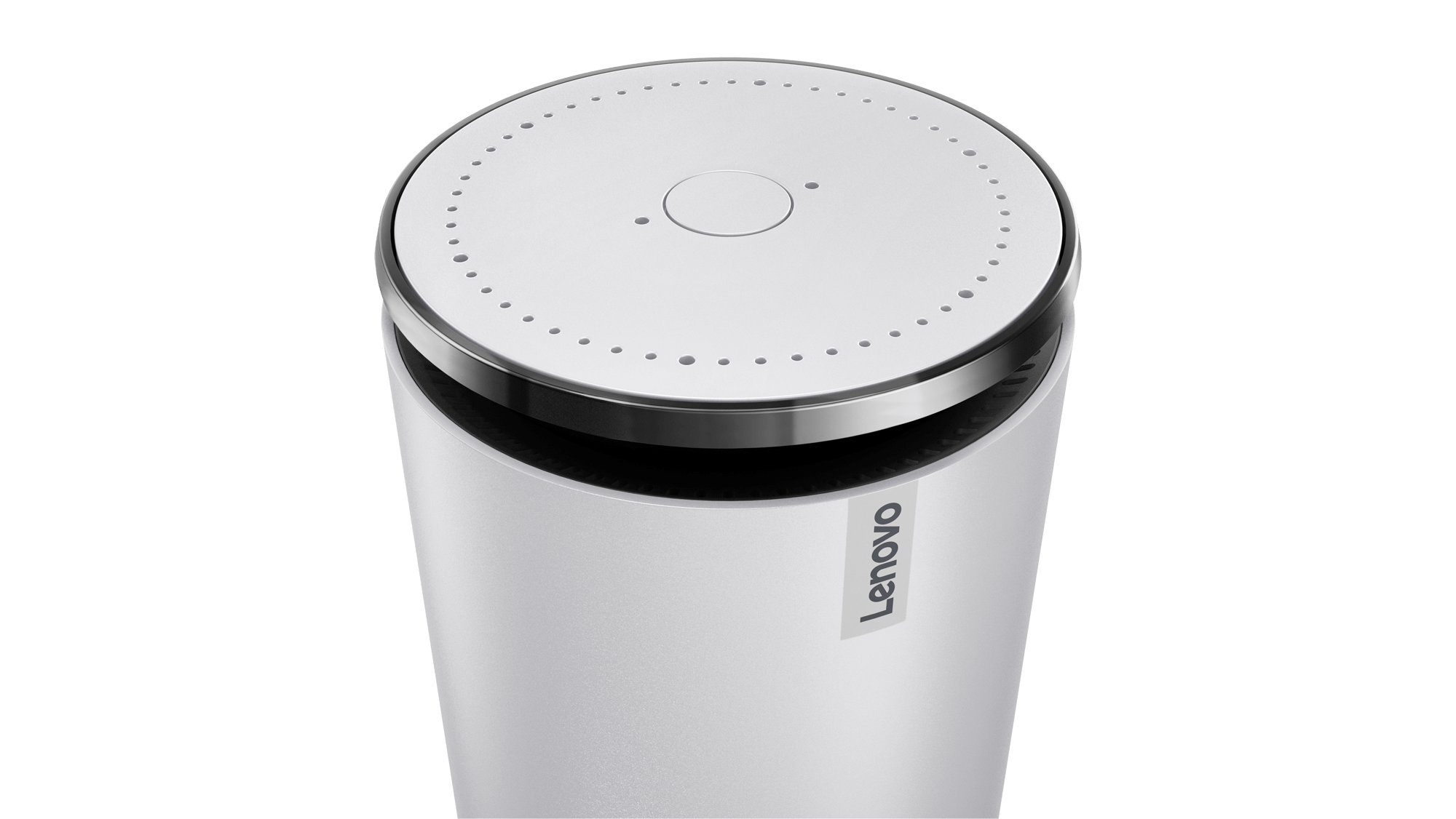 lenovo launches smart assistant a 130 amazon echo competitor with alexa inside venturebeat. Black Bedroom Furniture Sets. Home Design Ideas