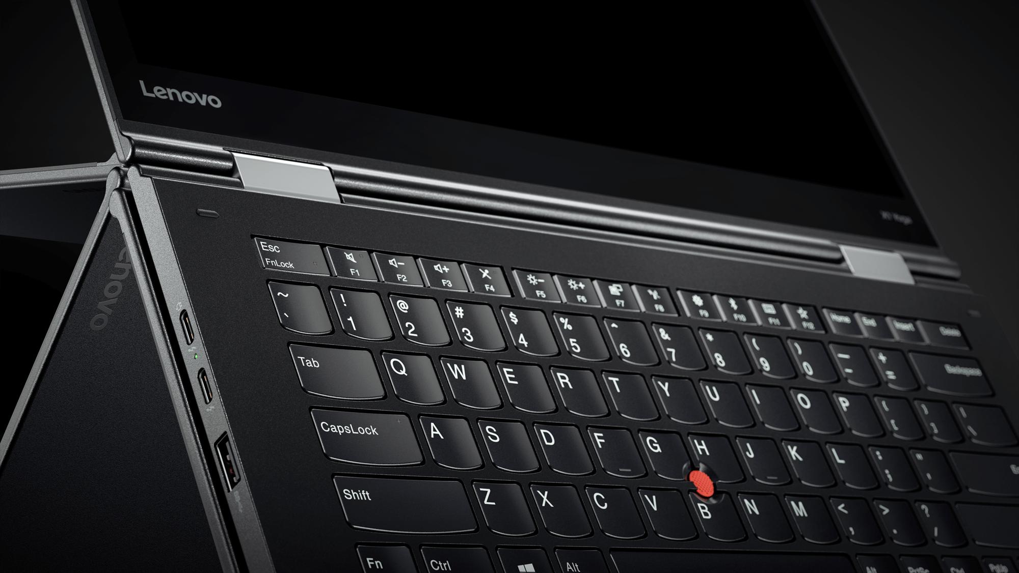 Lenovo's 2017 ThinkPad X1 Yoga.