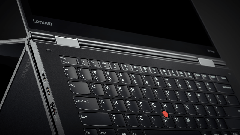 Lenovo's 2017 ThinkPad X1 Yoga.