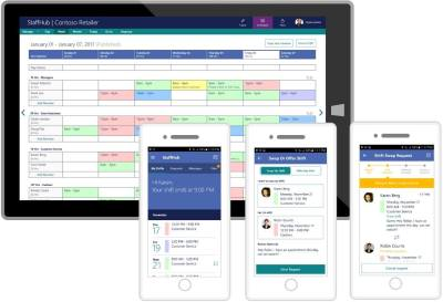microsoft launches staffhub scheduling app out of preview for office