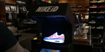 Nike has found a novel use for AR for marketing shoes