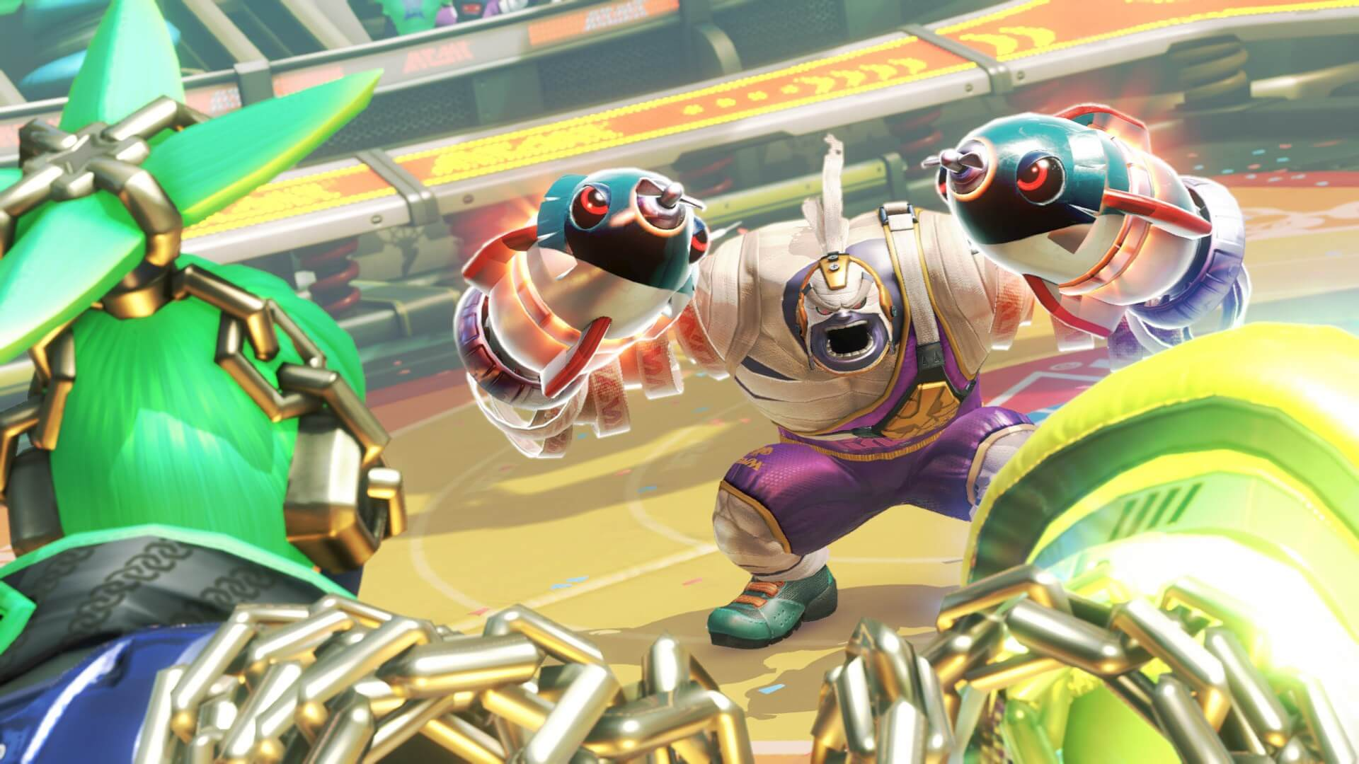 Arms is one of Nintendo's new IPs coming to the Switch.
