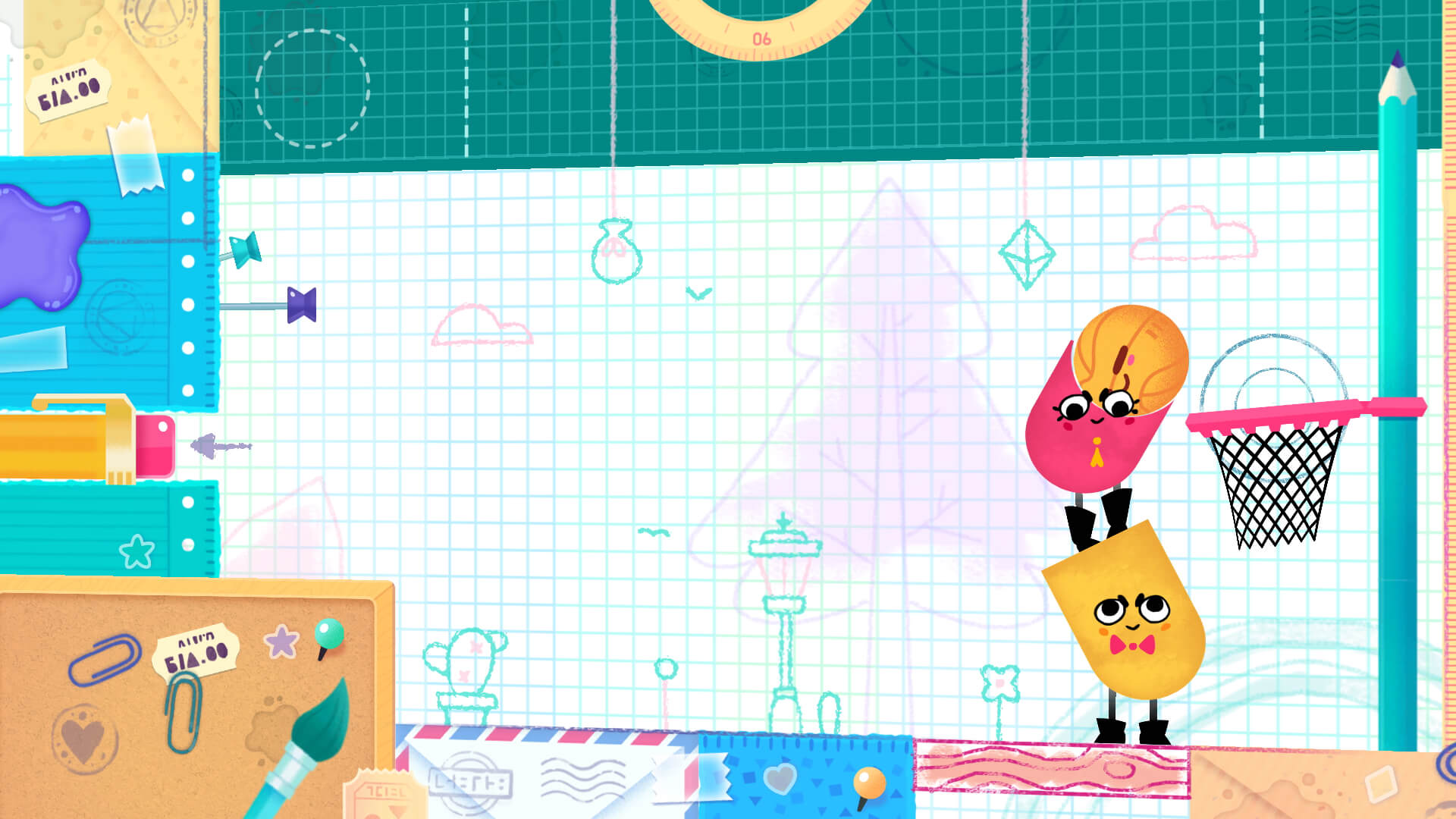 Snipperclips - Cut it out, together! is a new puzzle title for Nintendo Switch.