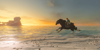 The Legend of Zelda: Breath of the Wild makes Link a master horse tamer
