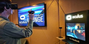 Bellying up to the first Oculus-powered bar in Las Vegas