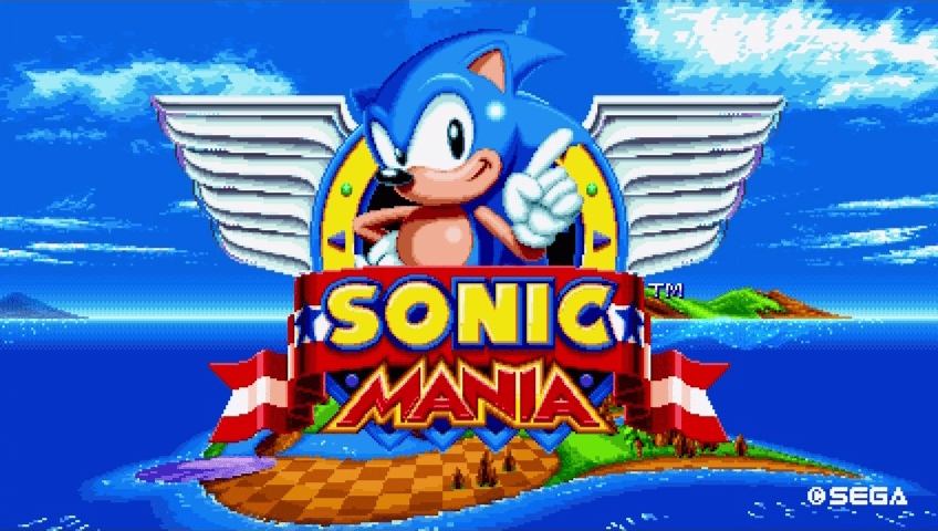 Sonic returns to his roots -- again -- in Sonic Mania.