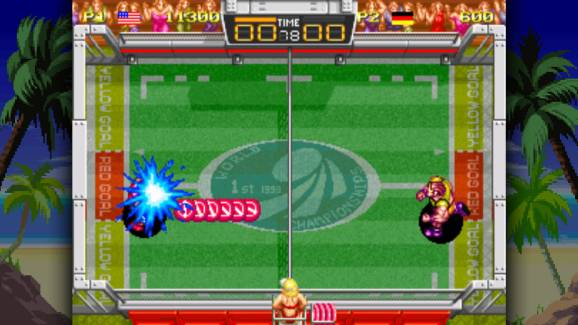 photo image Windjammers launches August 29 on PS4, Vita thanks to retro revival house DotEmu