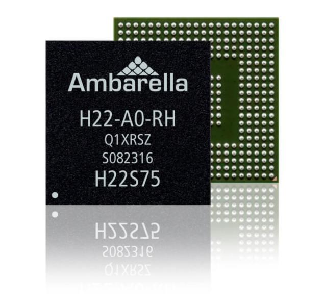 Ambarella's H22