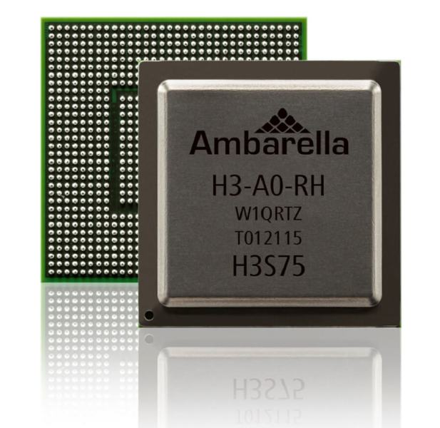 Ambarella's H3 is an 8K system-on-a-chip.