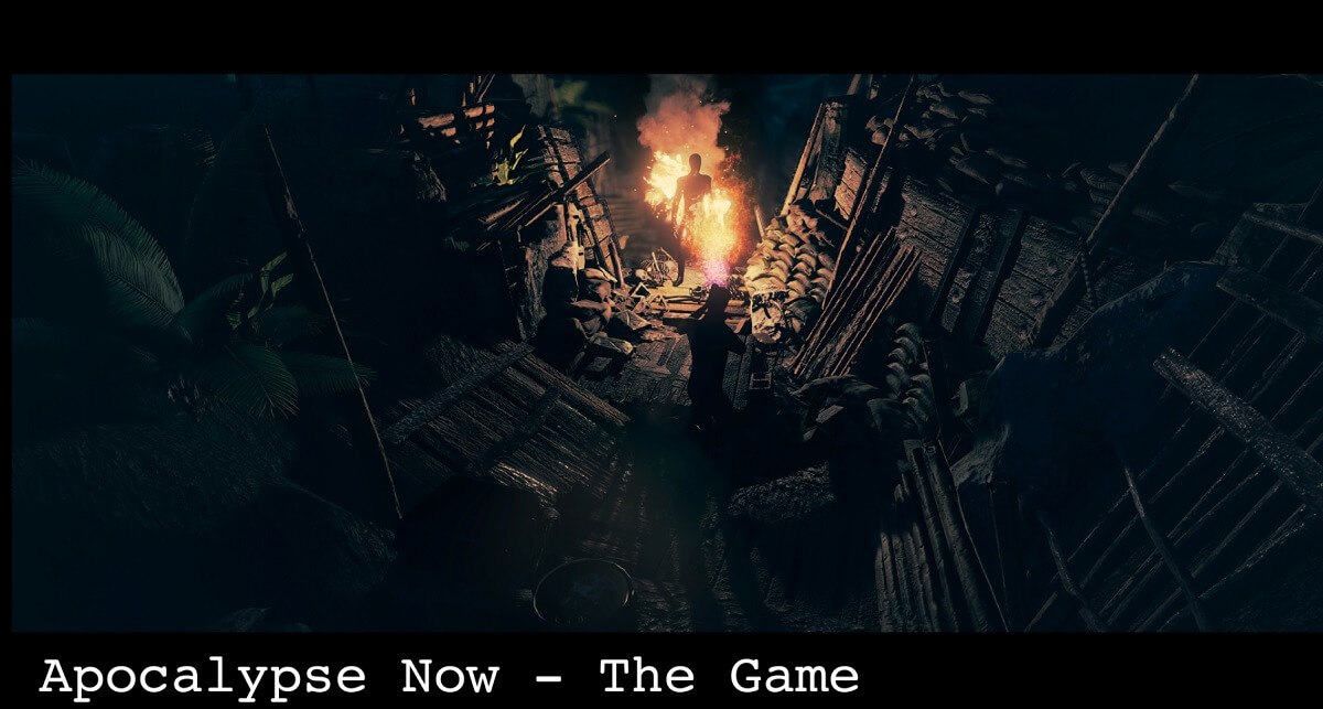 Apocalypse Now The Game will be a horror role-playing game.