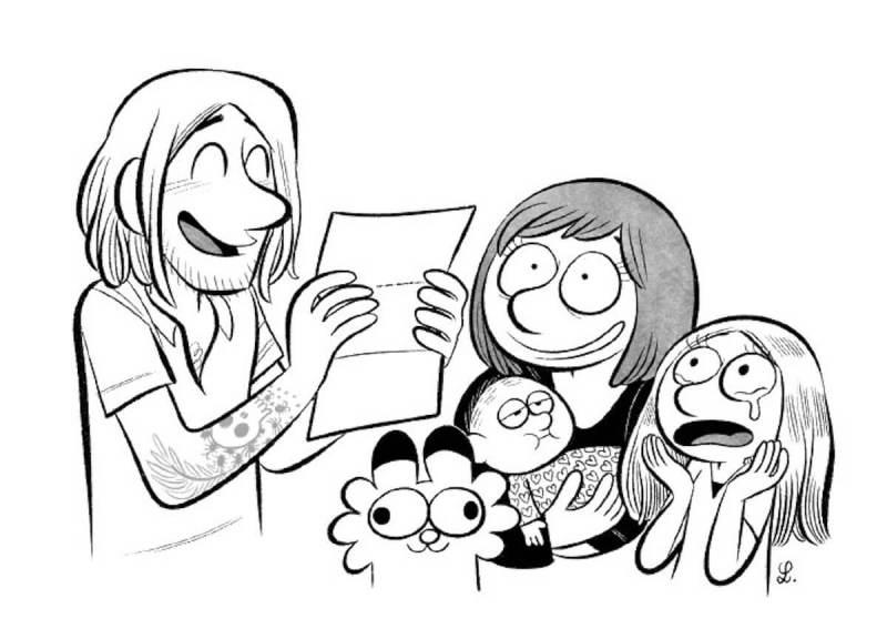 Laurel, Adrien and family