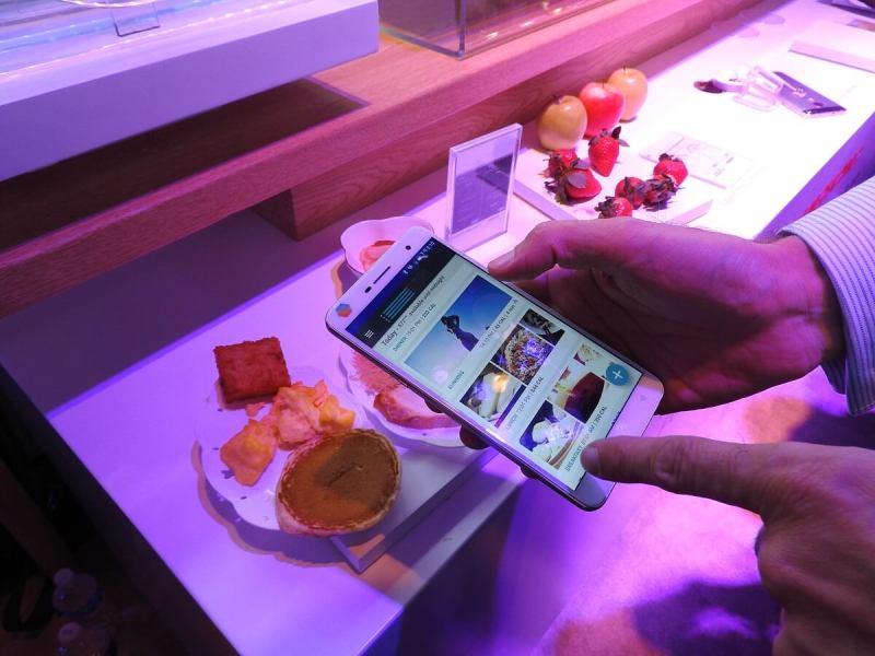 Changhong's H2 uses the Consumer Physics Scio molecular sensor.