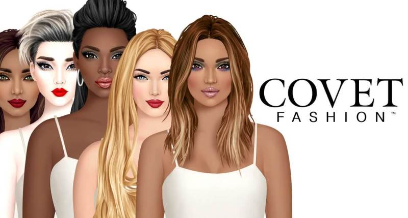 Covet Fashion's model line-up is multiracial.