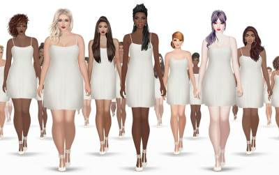 Covet Fashion mobile game adopts diverse female body shapes