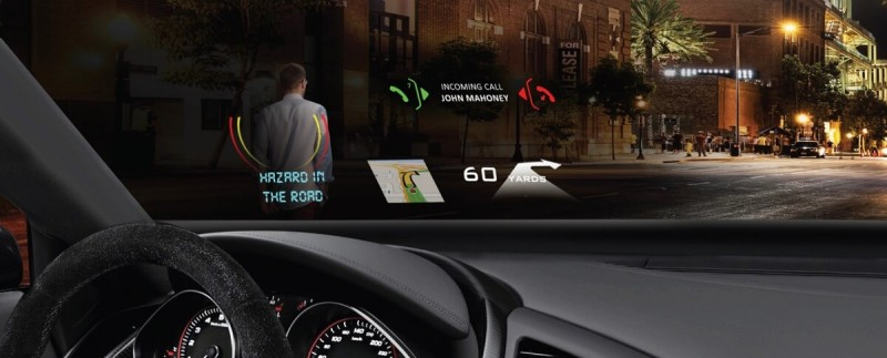 DigiLens makes heads-up display technology for cars such as a new BMW model.