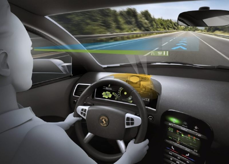 A heads-up display in a car can make you a more alert driver.