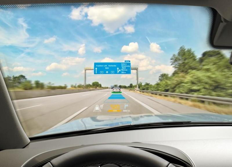 DigiLens can enhance a driving experience with a heads-up display.