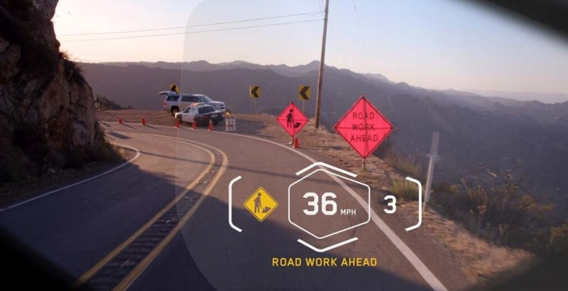 DigiLens enables augmented reality overlays.