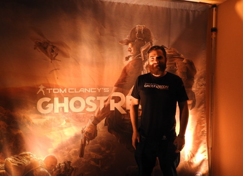Dominic Butler, Ubisoft's lead game designer on Ghost Recon Wildlands.