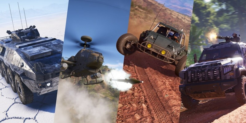 You can ride in lots of vehicles in Ghost Recon Wildlands.