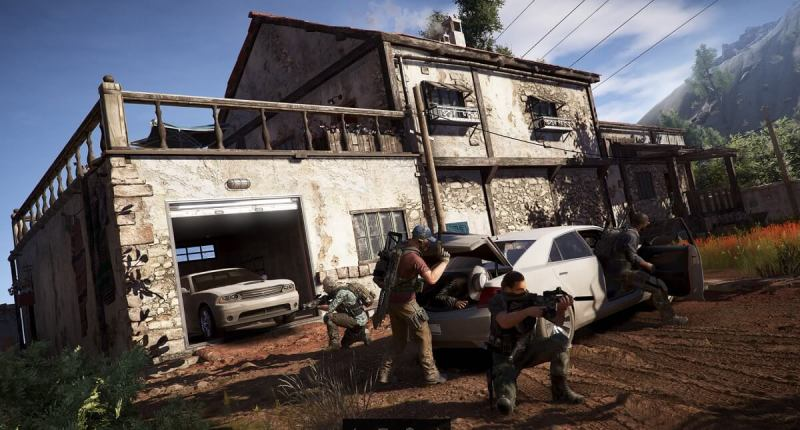Your team looks out for you in Ghost Recon Wildlands.