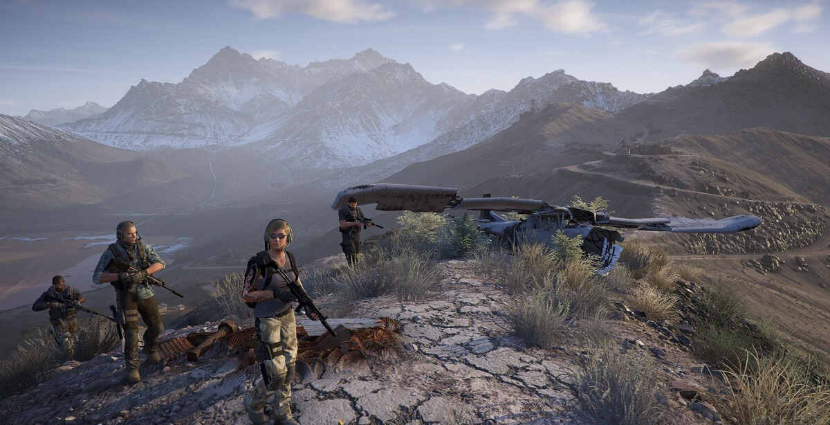 Every location in Ghost Recon Wildlands is playable.