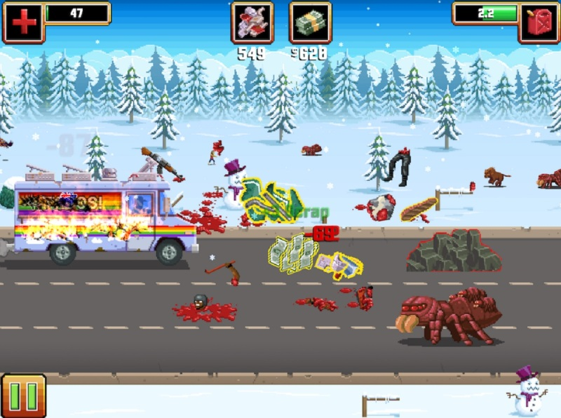 Gunman Taco Truck is an action game.