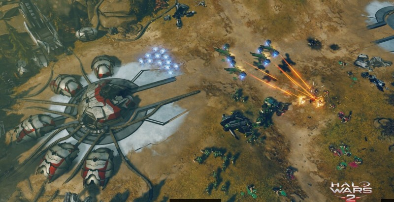 Amassing firepower is essential in Halo Wars 2.