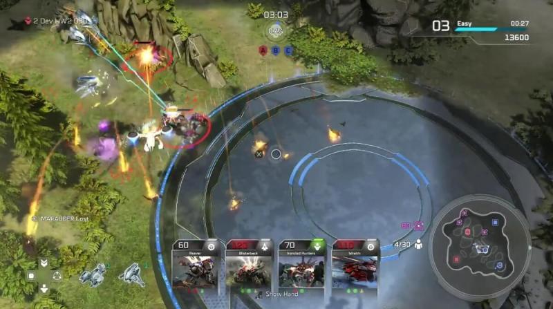 Halo Wars 2 Blitz mode on Proving Grounds.