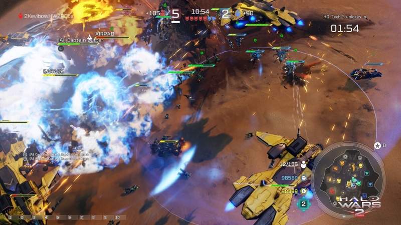 Halo Wars 2 has furious action.