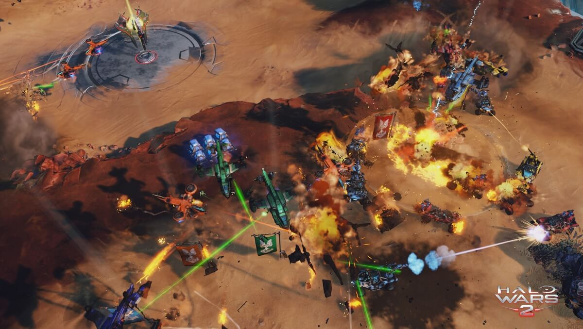 Halo Wars 2's 2-vs -2 mode speeds up real-time strategy