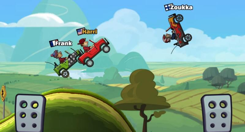 Hill Climb Racing 2 has hit No. 1 in top downloads in 64 countries.