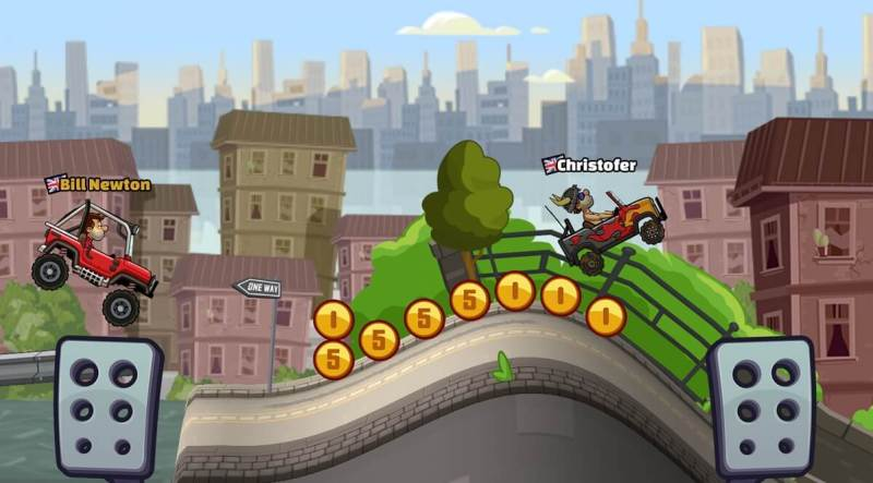 Hill Climb Racing 2 came out in November 2016.
