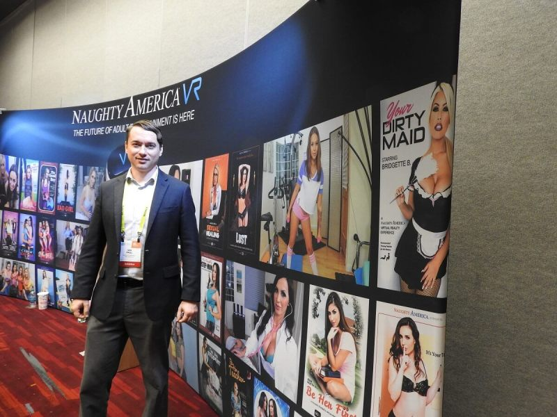 Ian Paul of Naughty America at CES 2017.