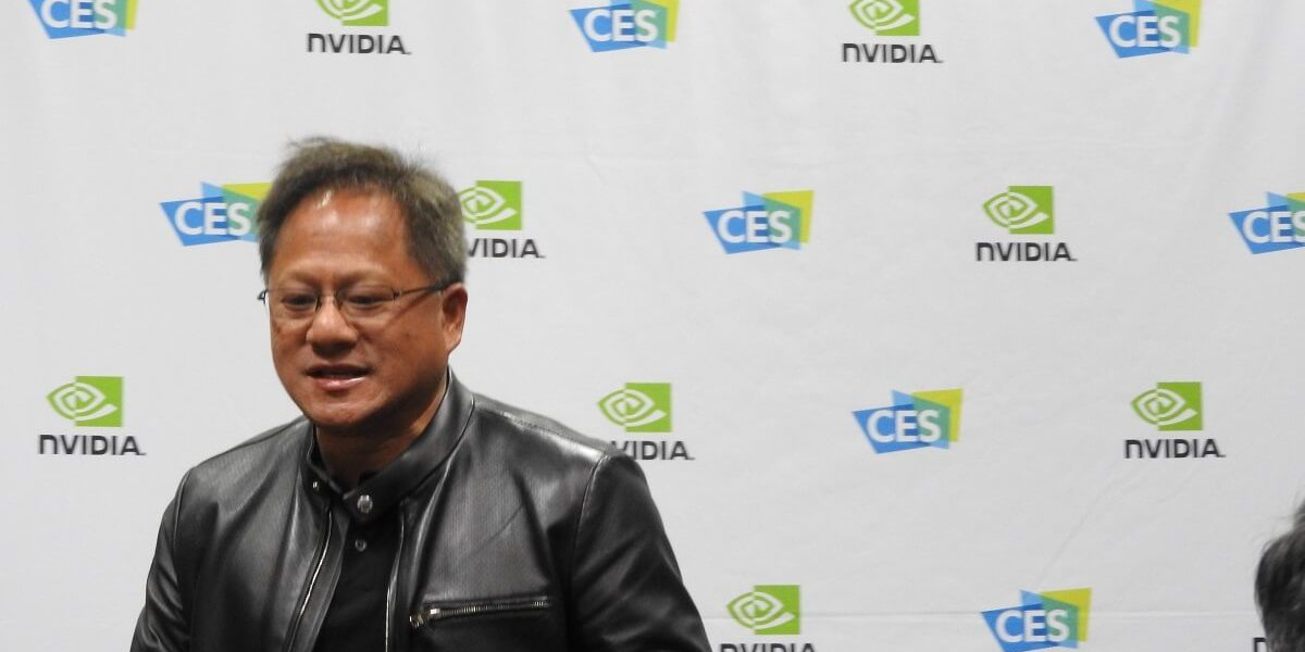 Jensen Huang, CEO of Nvidai, at CES 2017.