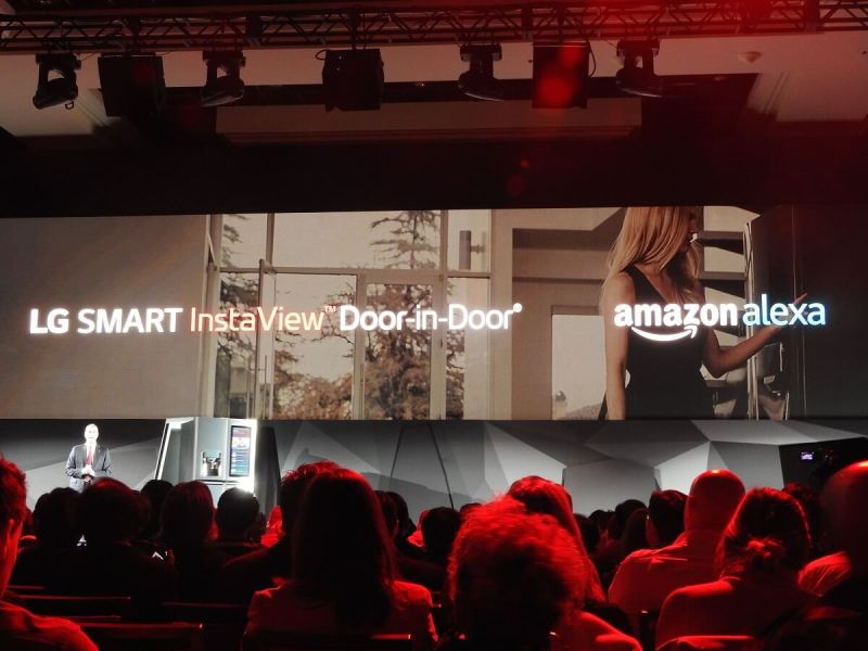 LG and Amazon have teamed up.